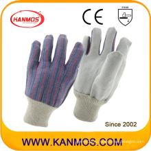 Самые дешевые перчатки для работы в технике безопасности на рукоятке из натуральной кожи (110201)