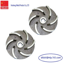 Stainless Steel Lost Wax Casting Water Pump Impeller