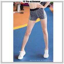 Qualitäts-Sport-Kleid-Frauen-reizvolle Kurzschlüsse für das Laufen