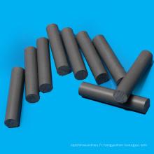 Tige de PVC de qualité en plastique d'ingénierie de gris