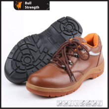 Industrial Leather Safety Shoes with Steel Toe and Steel Midsole (SN5256)