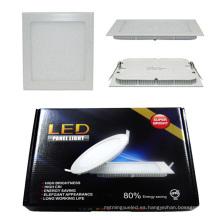 12W / 15W / 18W / 24W Color RGBW Dimmable LED Panel de luz