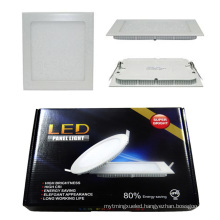 High Quality 18W Square/Round LED Panel Light