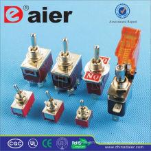 Interruptor de palanca de metal Daier 12V