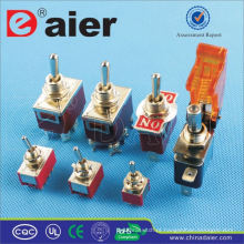 Daier 12V interruptor de alavanca de metal
