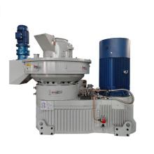 máquina de fabricación de pellets de polvo de madera