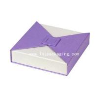 Caja clásica de embalaje de papel de reloj de alta calidad con cierre de imán