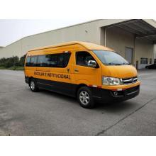 Autobús escolar de emisiones Euro III de dieciocho asientos de Dongfeng