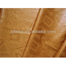 African Fabric Damask Shadda Guinea Brocade Bazin Riche Super cotton yarn