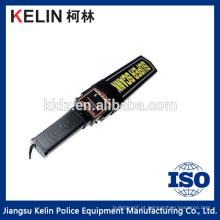 Alarme portátil do corpo do ponteiro do cinturão de mão do detector de metais da segurança
