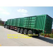 3 caixa de carga do eixo 40T / 60T Van Semi reboque
