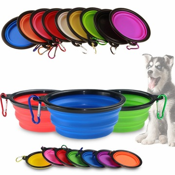 Reise Camping Wandern Walking Dog Dish Bowl