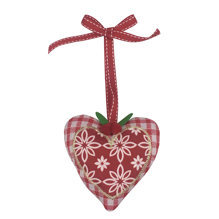 Christmas Heart Shape Hanging Pendant