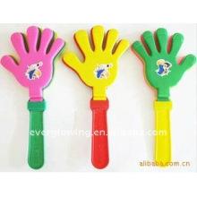 led flashing hand