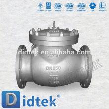 Didtek DN25 PN16 Flange end Swing Válvula de retención