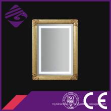 Espejo de baño grande Jnh273-G China Supplier enmarcado con luz LED