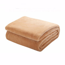 15PKBL05 2015 knitted poly flannel sleeping throw blanket