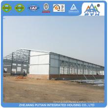 Barato construido rápido estructura de acero prefabricados graneros