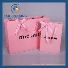 Paper Shopping Bag with Handle (CMG-PGBB-009)