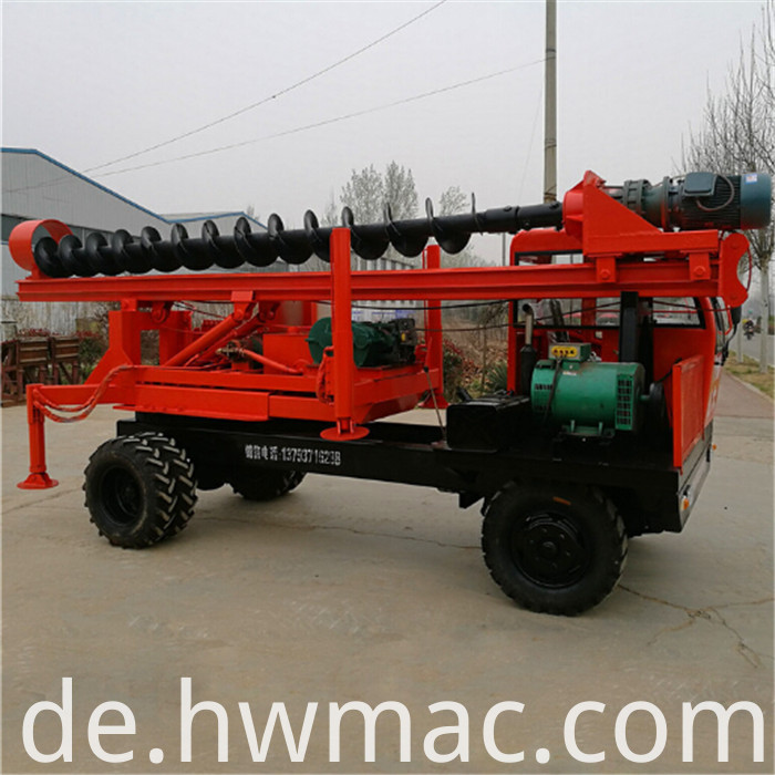 truck mounted pile driver