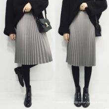 Оптовая Женская одежда Женская мода Плиссированные юбки