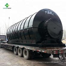 Usine courante de pyrolyse en plastique d'usines de traitement des déchets de XinXiang HuaYin / usine en Roumanie, Italie, Iran, Colombie