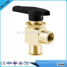 High pressure 6000psi forged brass ball valve