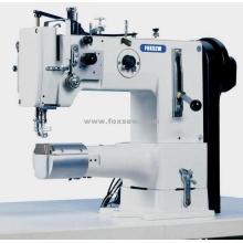 Máquina de costura de pé de pé de braço de cilindro