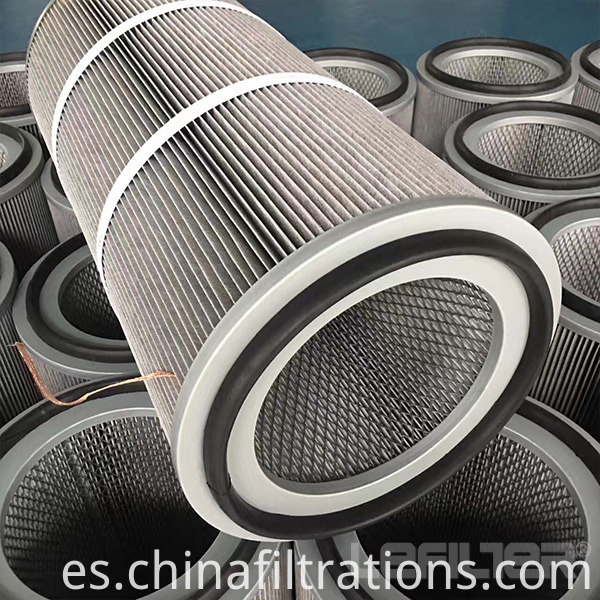 Antistatic Aluminized Polyester Filter Cartridge