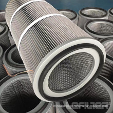 Antistatic Polyester Filter Cartridge for Dedusting