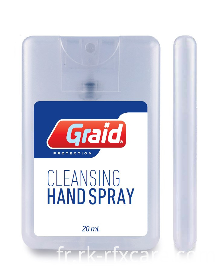 Dry Quickly Hand Spray