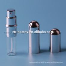 Empty Aluminum perfume spray bottle