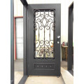 Wholesale Affordable Wrought Iron Door Hand Forged Door