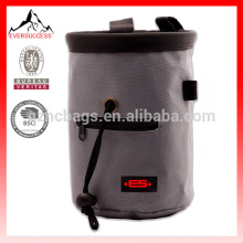 Rock Climbing Chalk Bag With Belt and Zipper Pocket- For Chalk Storage -Ideal For Rock Climbing, Mountaineering-HCC0002