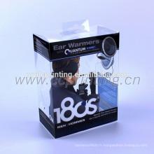 Boîte d'emballage de lecteur flash USB en plastique de fantaisie