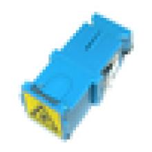 SC UPC Adaptador de obturador externo de fibra óptica
