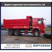 Caminhão de descarregador do caminhão basculante de Cnhtc Sinotruk HOWO 6X4
