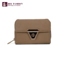 HEC China Supplier Fashion Female Purse Pvc Leather Card Wallet