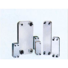 Water to Air Brazed Plate Heat Exchanger