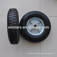 Flat Free Solid Rubber Wheel 2.50-4