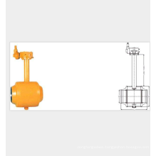 fully welded 3 piece ball valve with patent and competitive price