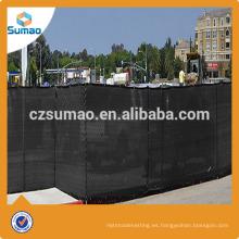 Pantalla de parabrisas / pantalla de privacidad 100% virgen al aire libre del campo de tenis del HDPE