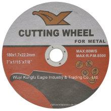 Schleifwerkzeuge, die Rad-Fliesen schneiden, schneiden Rad ab