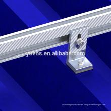 Marco de extrusión de aluminio de alta resistencia para la energía del panel solar