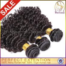 Massenimport gute dicke mongolische verworrene lockige Haarwebart