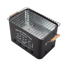 Портативная печь для барбекю на углях с мини-барбекю