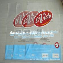 Printed LDPE Hot Cut Bag