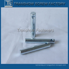 Pinos paralelos galvanizados de aço com furo