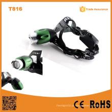 T816 High Power LED Farol Zoom Zoom Ajustável Best-Selling Farol LED Potente