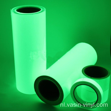 PET of PVC lichtgevende vinylfilm